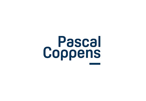 Pascal coppens logo blauw