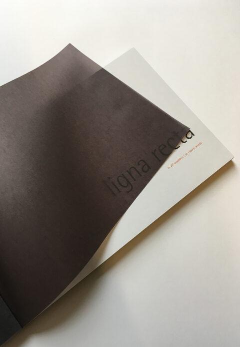 Bulthaup lignarecta brochure schutblad kalk