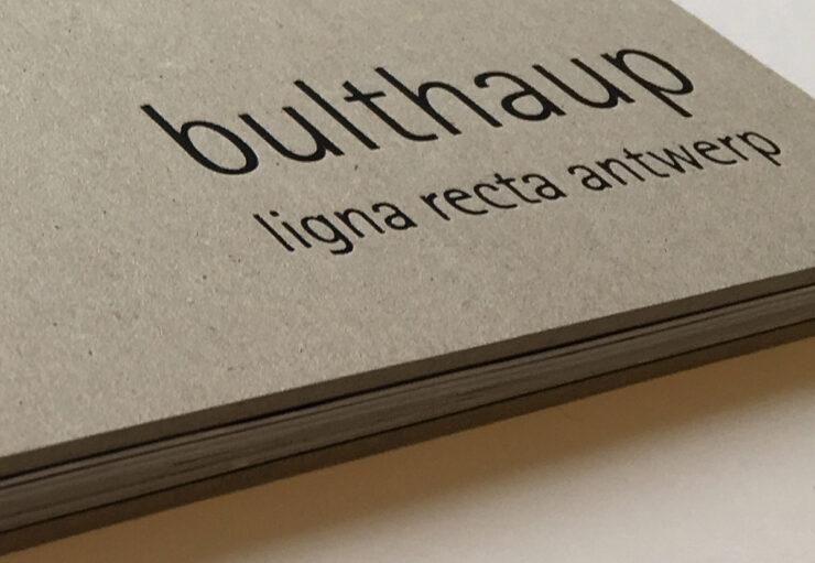 Bulthaup lignarecta brochure detail kaft