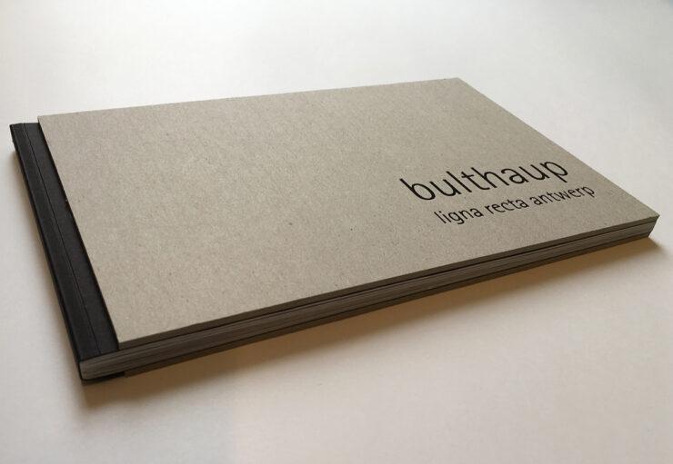 Bulthaup lignarecta brochure kaft volledig